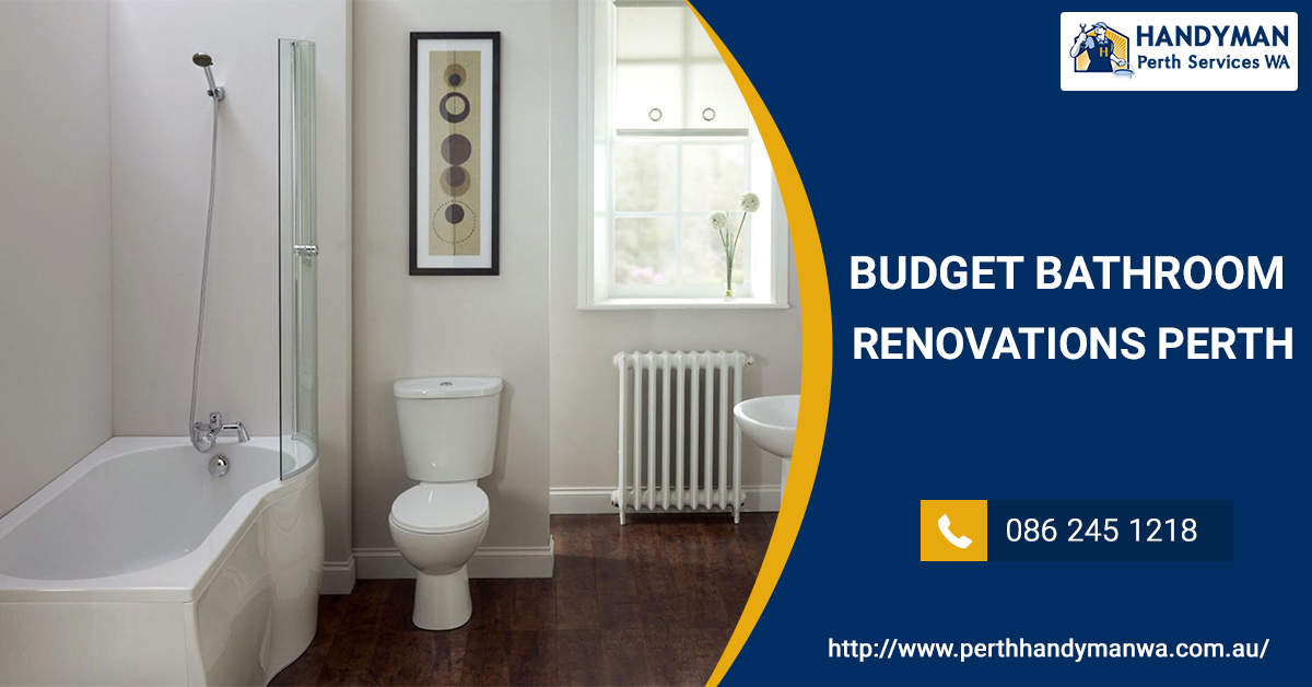 budget bathroom renovation perth perth handyman